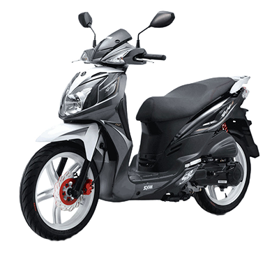 Rent a sym 150 in Athens